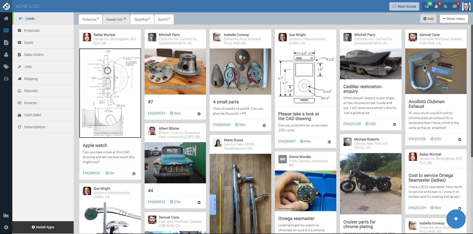 Visual job shop management software that's forever free